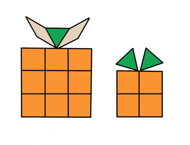Desenhos Natalinos Com Formas Geometricas Imprima Para Pintar