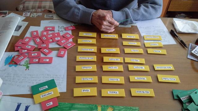 Muitas vezes Faça um jogo de associação para idosos com demência #janeiroreab  CI69
